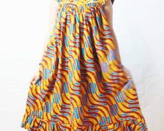 zebra dress african fabrics