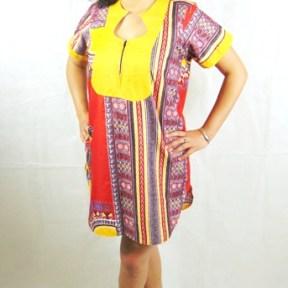 woman shirt-dress africadada