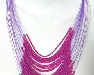 collana africana elegante