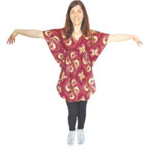 shirt woman african wax fabric