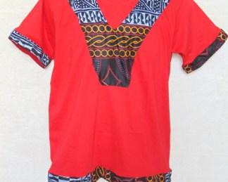 t-shirt red dada