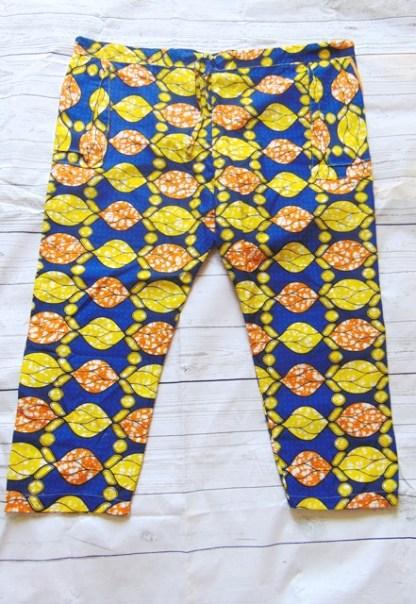 short pants men african fabric