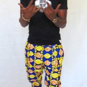 short pants african fabric