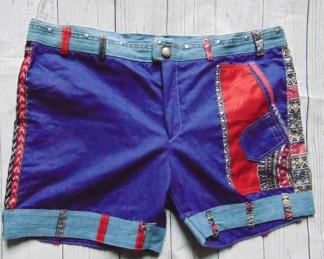 culotte matelot wax et jeans violet
