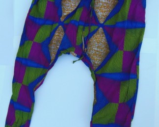 african bobaraba pant geometric design