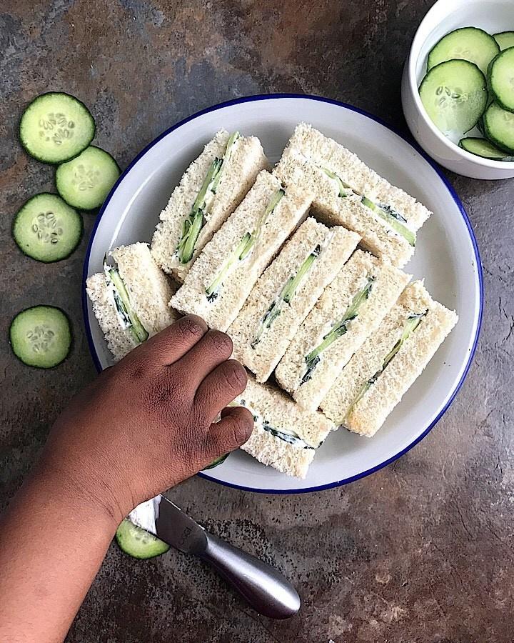Cucumber Sandwich Receipe
