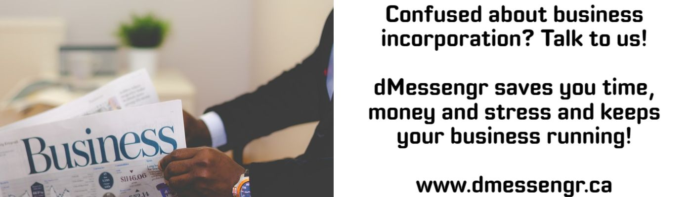 dMessengr.ca - Business Incorporation and back-office services