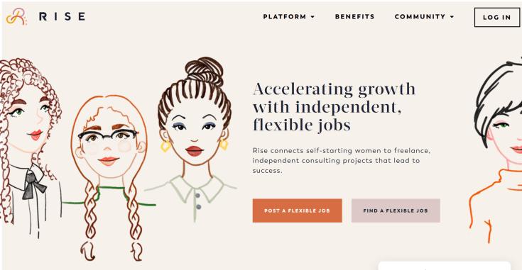 Rise Jobs Board For Women