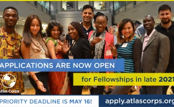 Atlas Corps Fellowship 2021 for Emerging Global Leaders