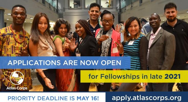 Atlas Corps Fellowship 2021 for Emerging Global Leaders