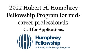 Hubert H. Humphrey Fellowship Programme for Mid-level Career Professionals
