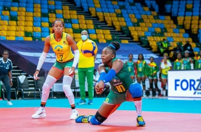 Volleyball – Women's African Championship: Cameroon achieves a consecutive treble