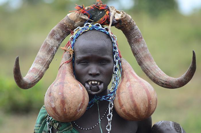 Mursi Tribe Boys
