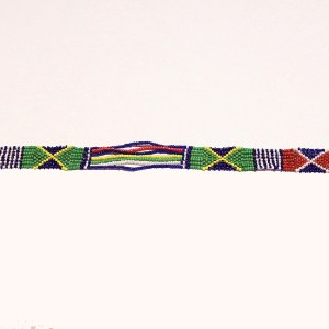 Multicolored 6 African Beaded Necklace