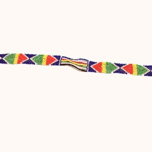Multicolored African Beaded Necklace