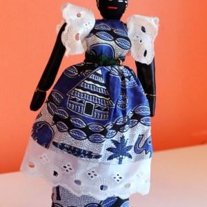Handmade African Baby Doll - Yacine