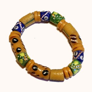 Yellow African Trade Beads