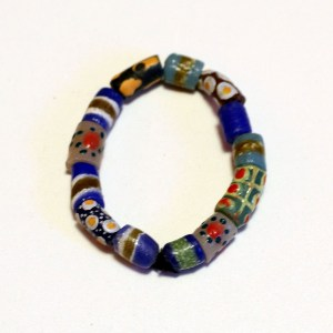 Blue African Trade Beads