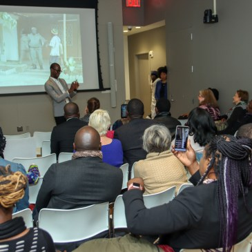 African scholar Boukary Sawadogo, Ph.D. gives book talk on African Cinema at the NYU Center for the study of Africa and the African Diaspora-2565