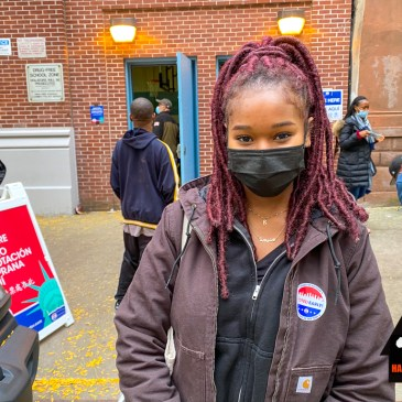 Guinean Harlemite braves long lines to cast her first vote