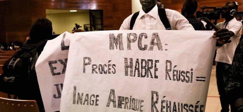 Processo Habrè, Tribunale Dakar