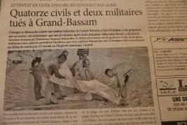 Titolo attentato Costa d Avorio