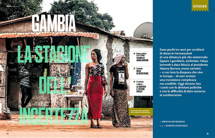 Dossier Gambia Nigrizia