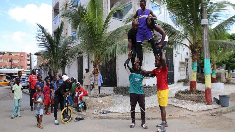 Stelle volanti a Dakar