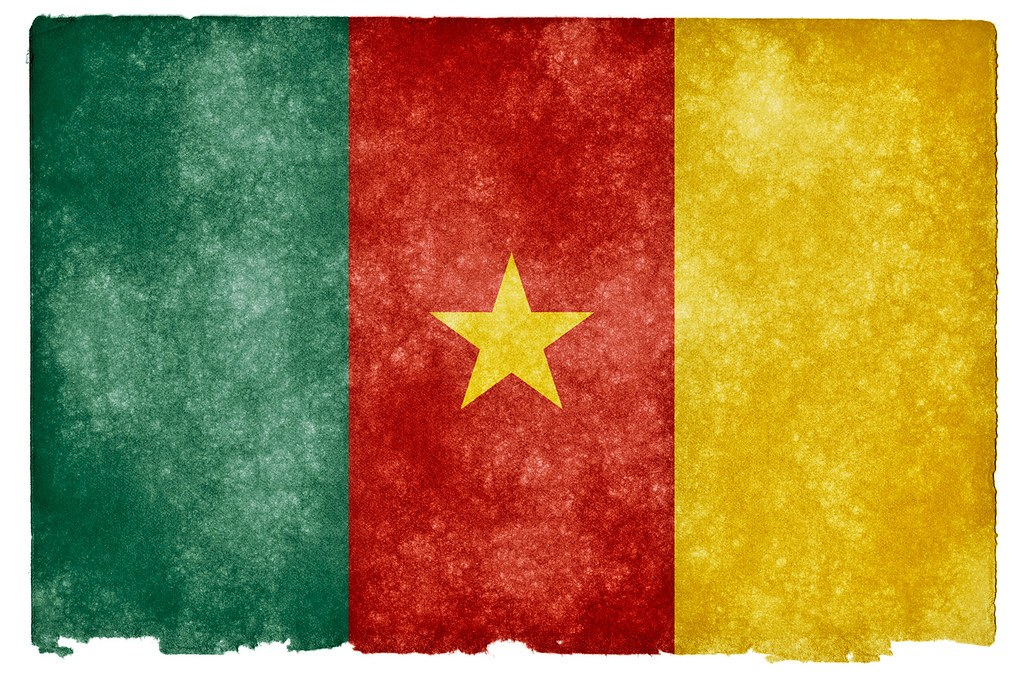 """""""Cameroon Grunge Flag"""" by Free Grunge Textures - www.freestock.ca is licensed under CC BY 2.0"""