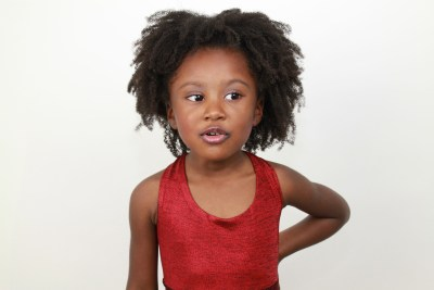 Beautiful African child / girl hair