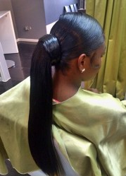 ponytails african american