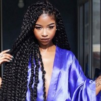 Long Kinky Twists | African American Hairstyles Trend For ...