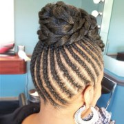 flat twists hairstyles african
