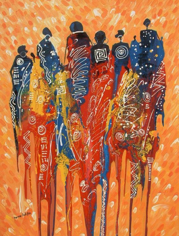 Ghana African Art Paintings