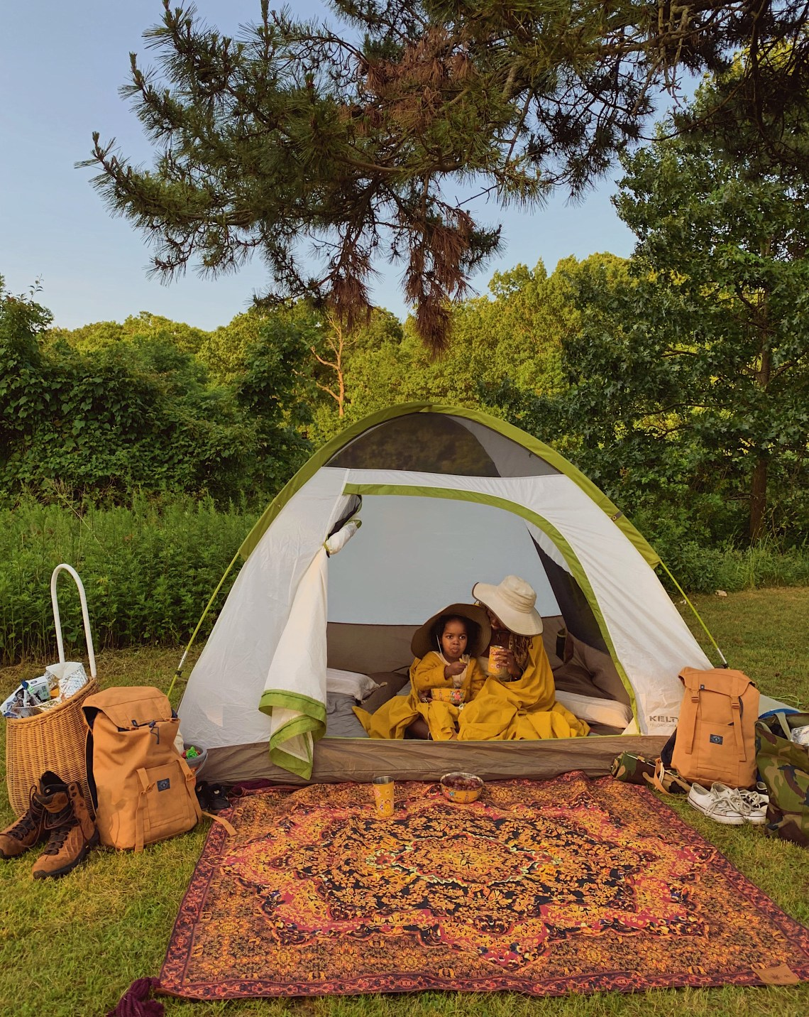 New York City Kids |5 places for Camping with Toddlers