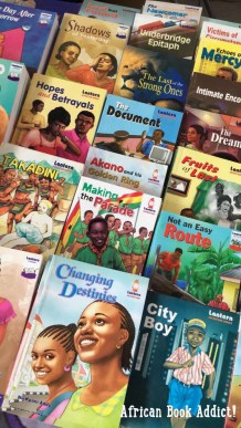 Ghanaian kid lit on display at the 14th Ghana International Book Fair.
