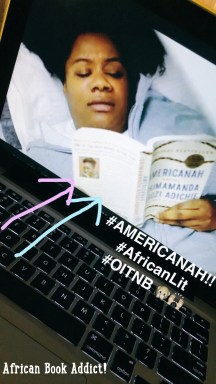 'Americanah' by Chimamnda Adichie making an appearance on Neflix comedy-drama, 'Orange Is The New Black' season 4 (very upsetting season!)