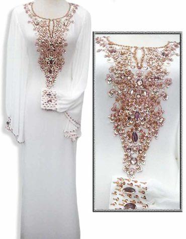 African clothing Designer Evening Gown Jalabiya Abaya Moroccan kaftan