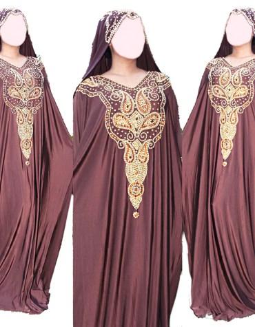African Attire Abayas Moroccan Formal Kaftan Wedding Dresses for Women