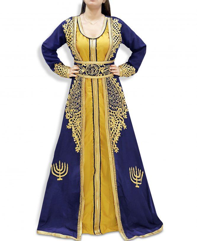 Abaya Dubai Kaftan for Women Muslim Wedding Dress Plus Size Gown African Clothing