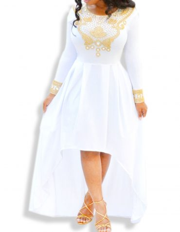 African Attire Golden Moroccan Bridesmaid Prom Spandex Caftan Dresses for Women