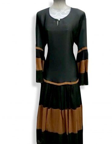 Formal Imported Soft Nida Fabric Bell Sleeve Dubai Designer Abaya for Women
