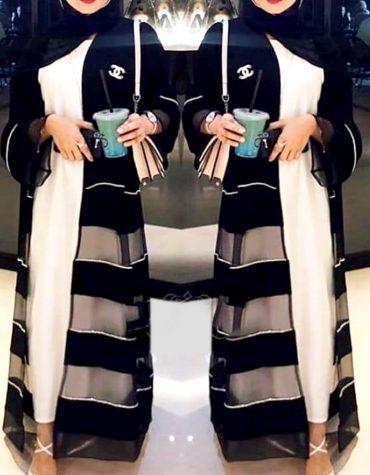 Elegant Soft Nida Fabric Long Sleeve Dubai Jacket Designer Abaya for Women