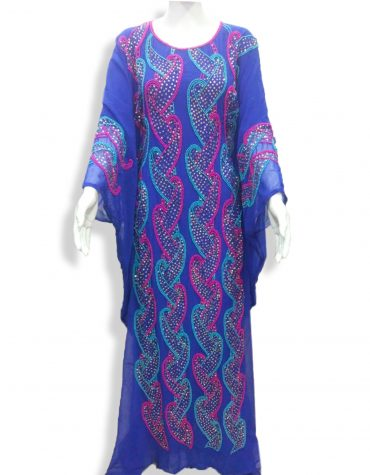 African Attire Designer Evening Beaded Gown Jalabiya Abaya Moroccan kaftan