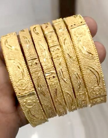 Fashion Glamorous rass 2 Gram Gold Bracelet Imitation Jewelry