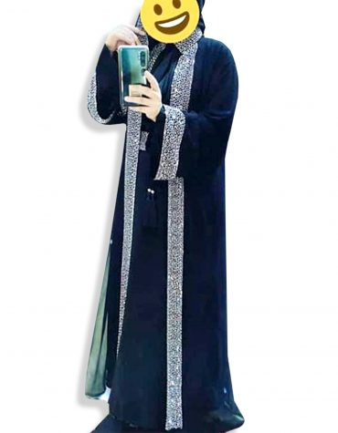 Ladies Islamic Designer Soft Nida Fabric Long Sleeve Dubai Abaya for Women
