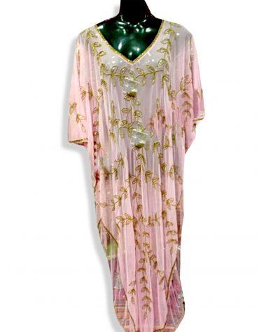 African Dress for Women Caftan Farasha Dubai Abayas Gold Embroidery Party Wear