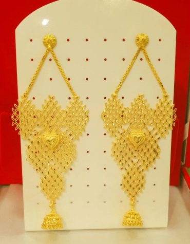 2020 Best Designer Earring Set Golden Plated