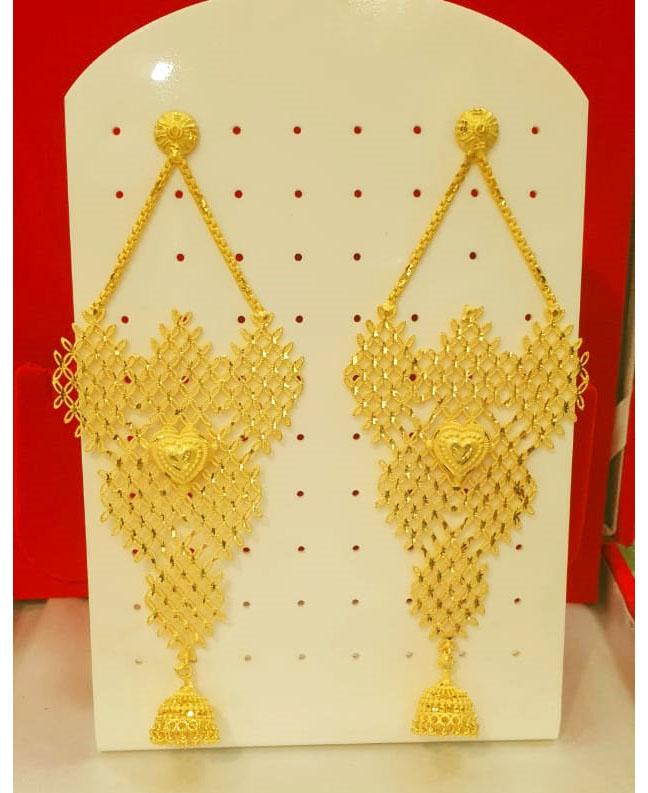 2020 Best Designer Earring Set Golden Plated