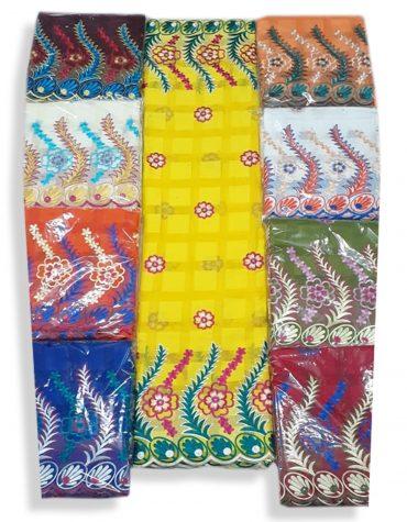 African Attire Muslim Cotton Design Party Wear Dubai Dresses Material for Women